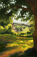 Landscape Practice 3 by BobShmob