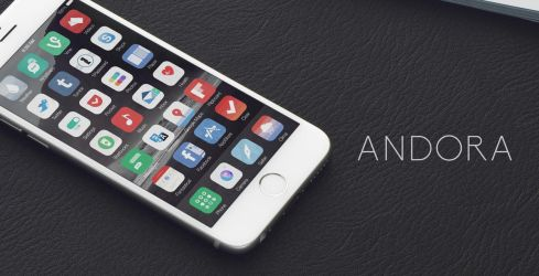 Andora theme iOS 8 - Released by thetimeloop