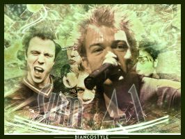 Sum 41 poster by DeviantBianco