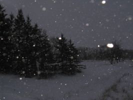 Snowy Night 03 -STOCK- by the-suns-moon