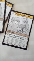 Groundhog Day 2016 Souvenir Trading Card by tedbergeron