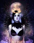 Angel of fire by katmary