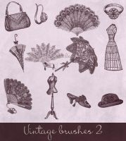 vintage brushes 2 by Etoile-du-nord