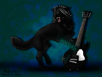 Touch my Guitar and DIE by stevie12397