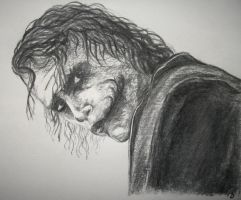 Heath Ledger - Joker by PBeata