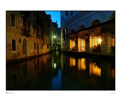As Night Falls on Venice by archipirata