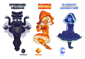 Witchy Gem Adopts (1/3 OPEN) by OriSODEhime
