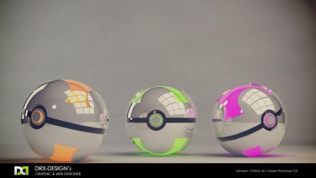 Pokeball new forma by DRX-Design