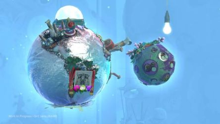 My Planet and Moon on LBP2 bet by alef76304101