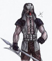 Kabal sketch by RodWolf