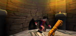 Harry Potter PS1 Hogwarts Dungeons Secret Room 1 by Daxx-Lorenzo