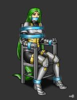 Armored Palutena Tied by geekling