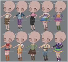 Outfits for sell [03] [Open] by Sephiriah