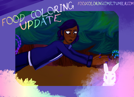 Food Coloring Webcomic Update by wolfbanefoxglove