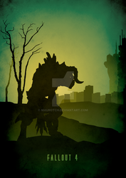 Deathclaw (Recolor) - Fallout 4 by MauroTch