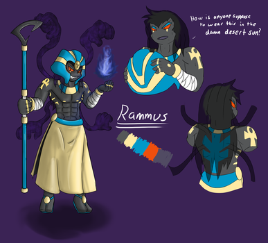 Rammus the Cofagrigus by ToppleTheStrange
