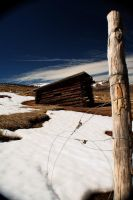 Coyote Flat Cabin by tcore