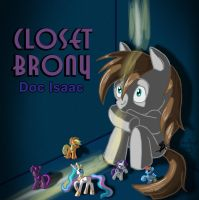 Closet Brony CD Cover by tcat