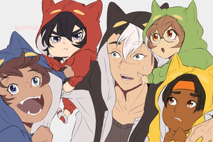 Raising Voltron by RhIVenX