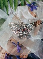 Necklace Butterfly by UrsulaJewelry