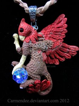 Gryphon griffin griffon by carmendee