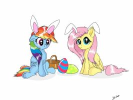 Happy Easter by RoseGoId