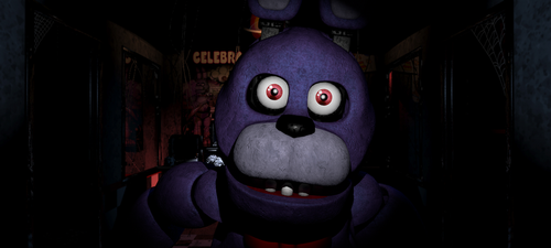 FNaF Bonnie jumpscare [PICTURE] by AnimDarkness