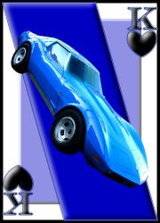 King Card Corvette by curtydc