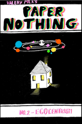 Paper Nothing 2 (zine) by CubedGlitterSpasm