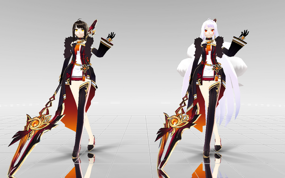 [MMD-ELsword] Ara Yama Raja DOWNLOAD! by Darknessmagician