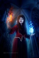 Water or Fire by Celtica-Harmony