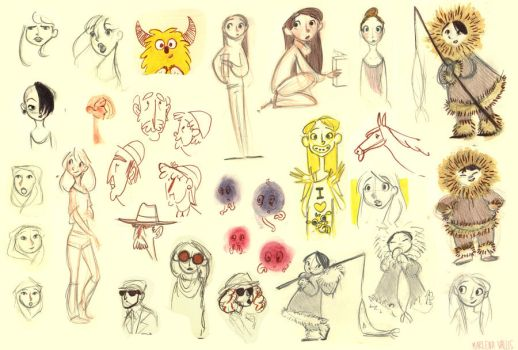 Sketches 10 by marlenakate