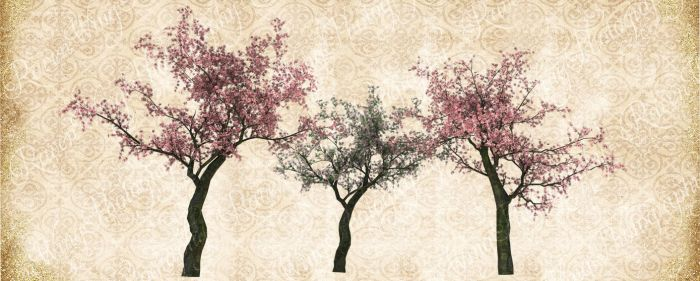 Cherry Tree Grouping by Just-A-Little-Knotty