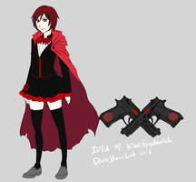 Ruby Rose of the Rose Family RWBY Mafia Au by khalilfrederick