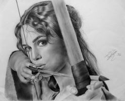 Keira Knightley by Thais-Re