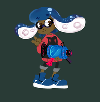 Nerd Squid by StarBracer