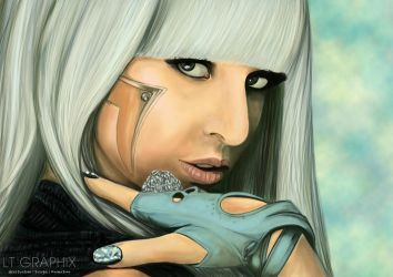 Lady Gaga by LTGRAPHIX