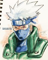 Kakashi by Mark-Clark-II
