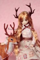 Deer antlers for Azone doll by Sarqq