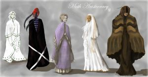 Moth Aristocracy, Lineup 2 by SineSquared