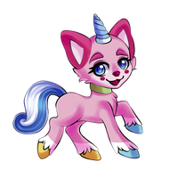 Unikitty by YellowFeatherBolt
