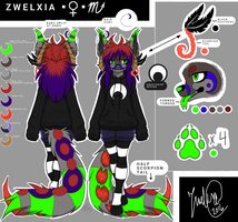 Anthro Zwelxia REF (2016) by Zwelx