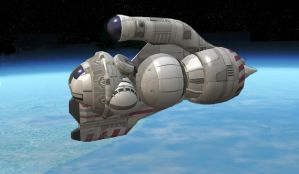 Space Tug 1 by OrionShipworks
