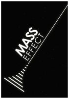 minimalist video game posters 2  -  Mass Effect by TheSamFiles