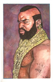 Mr. T Watercolor... by ssava