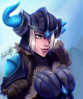 Sejuani - League Of Legends by Hinata1495