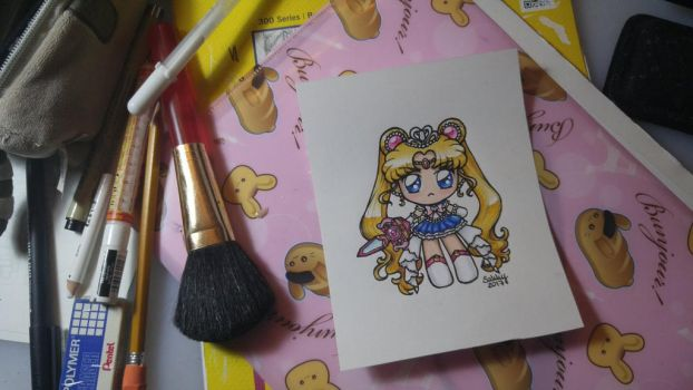 Princess Sailor Moon Chibi by sakkysa