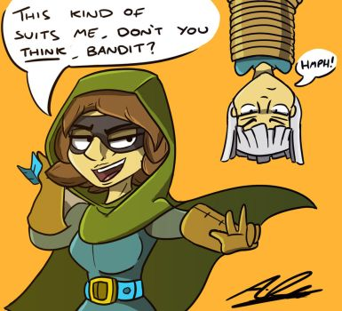 Royal Bandit - Coloured by Adam-Clowery