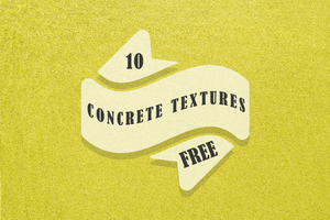 10 Free Concrete Textures by symufa