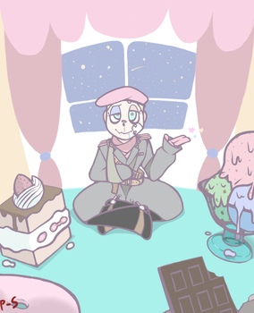 sweets room by powder-sugar